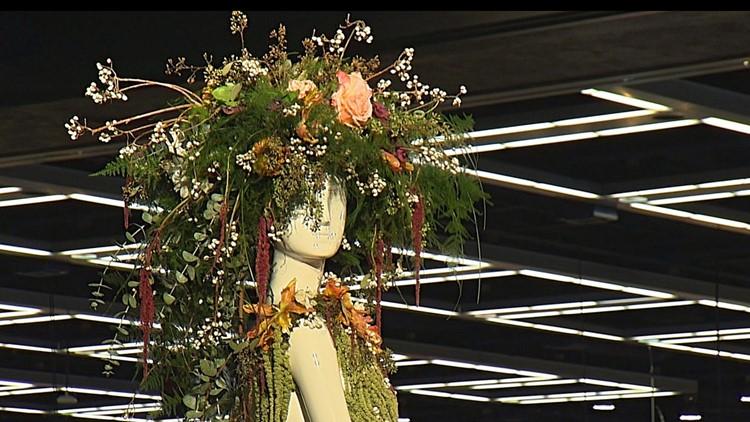 Flower and Garden Mannequin