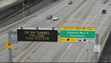 How tolling has impacted morning SR 99 tunnel traffic