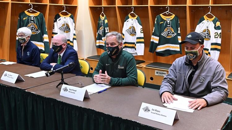 College hockey returns to Anchorage; Kraken get an assist