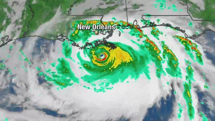 Hurricane Ida nears New Orleans Sunday morning