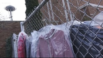 Coat drive helps keep people 'Warm for Winter' in Seattle