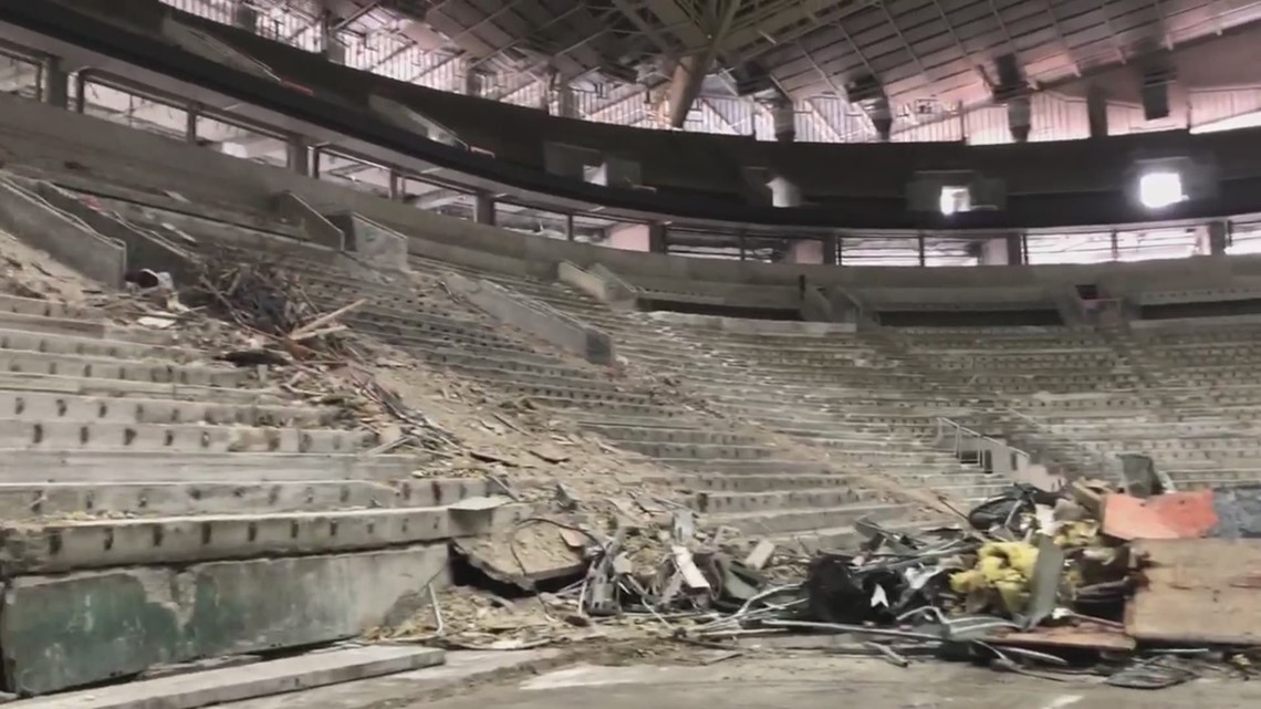Go behind the scenes of Seattle arena construction