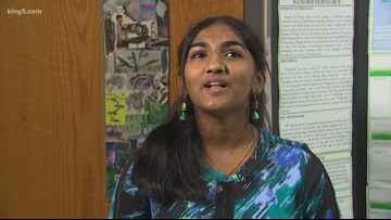 Two western Washington middle schoolers named nation's 'top scientists'