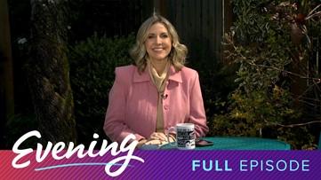 Thurs 4/2, KING 5 Evening from Kim Holcomb's Backyard, Full Episode