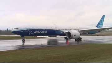 Boeing postpones 777X test flight until Saturday due to wind