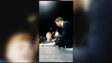 Aberdeen teen amazes Michael Buble with his voice at Tacoma concert
