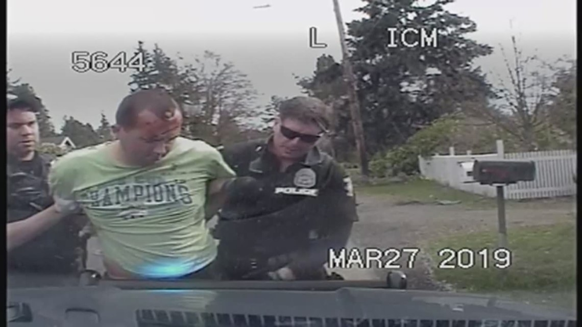 Dashcam videos show moments after North Seattle shooting rampage