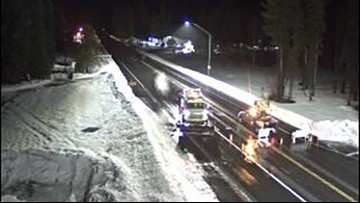 Highway 2 over Stevens Pass reopens after morning closure