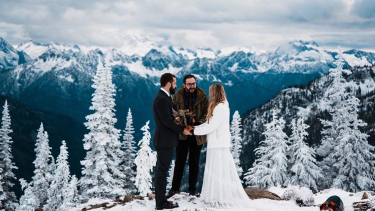 Dan & Emily's North Cascades wedding