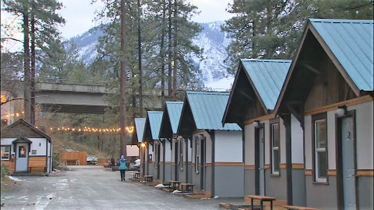 Loge Camp Leavenworth