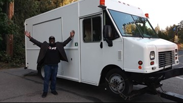 Pastor finds food truck stolen from Tacoma church