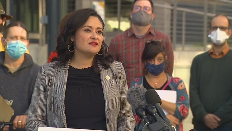 Seattle mayoral candidate Lorena González outlines plan to tackle homelessness