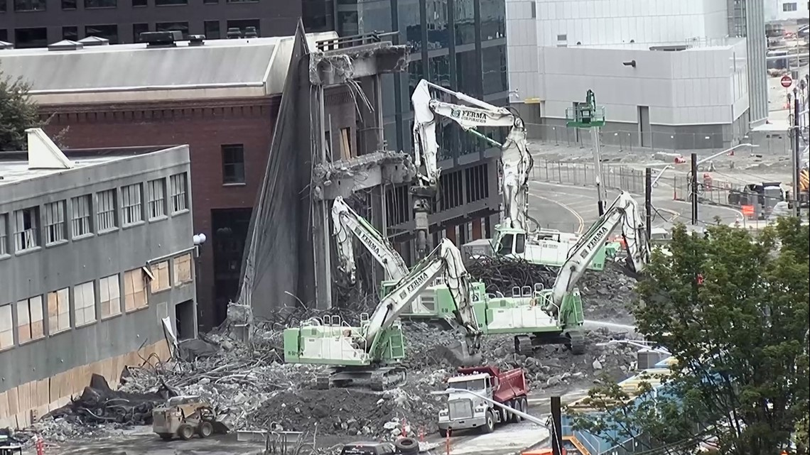 What drivers need to know in the final stages of Seattle's viaduct demolition
