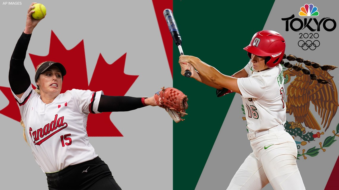 Softball players with western Washington ties face off in Olympics