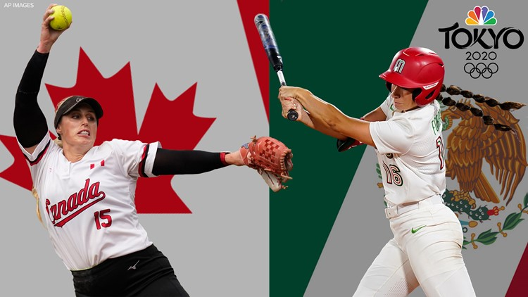 Canada beats Mexico: Softball players with western Washington ties compete for bronze in Olympics