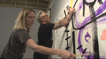 Pearl Jam guitarist turns artist