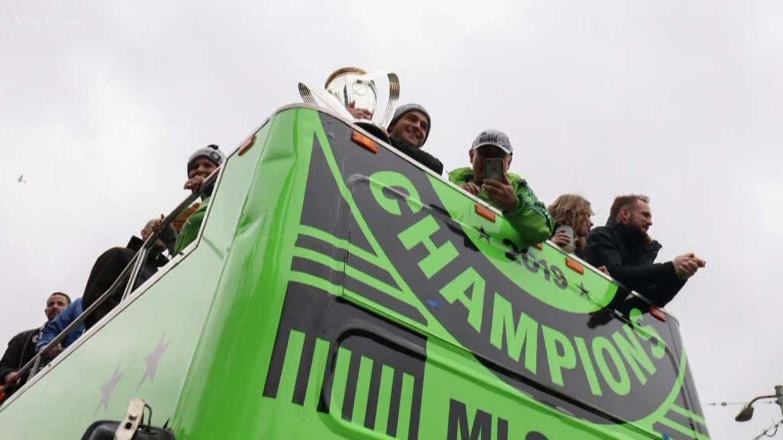 Celebrate the Sounders!