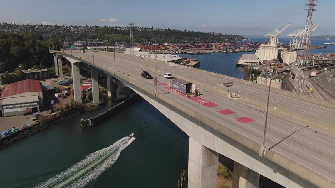 Inside look at repairs on the West Seattle Bridge before reopening in 2022