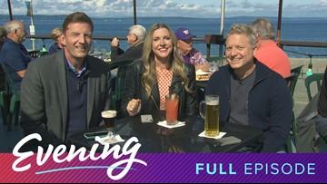Mon 9/16, Christo's on Alki in West Seattle, Full Episode, KING 5 Evening