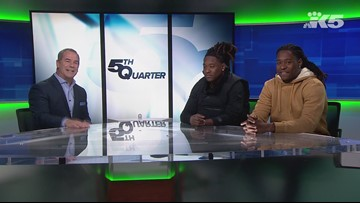 Seahawks Shaquill and Shaquem Griffin stop by the KING 5 studios