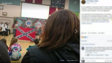 Confederate Flag controversy at Tumwater school | king5 com