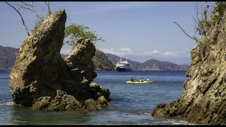 UnCruise Kayaking near Safari Voyager