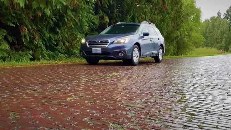 Western Washington's most unusual mile of road