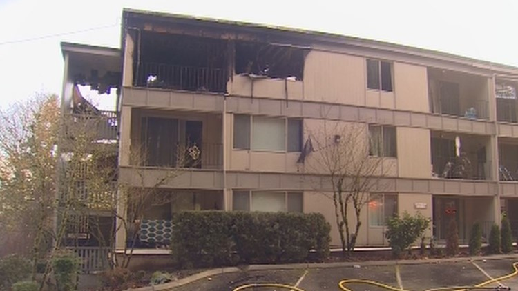 Fire forces evacuation of 90 apartments in Kent