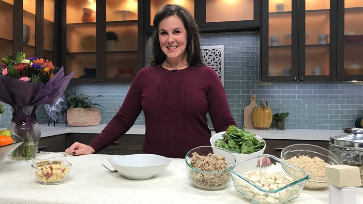 Champagne Nutrition's dietitian Ginger Hultin