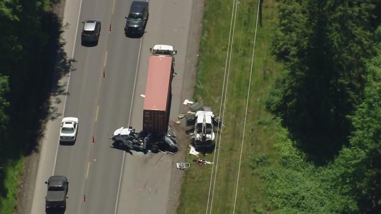 Driver of stolen truck that struck Washington State Patrol officer was an arson suspect