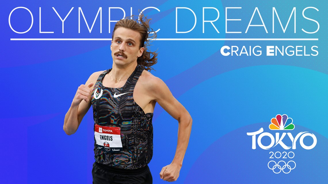 Runner Craig Engels is ready for his job to represent his country