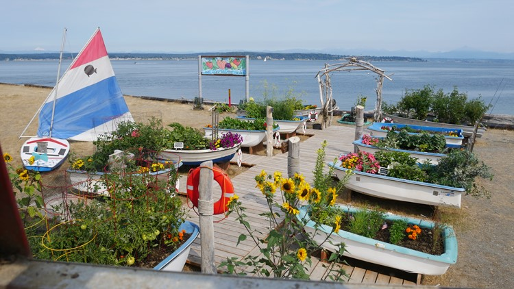 How a little garden north of Seattle brought an island's community together