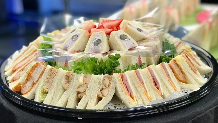 Bellevue's Sandwich House TRES has sandwich platters too!