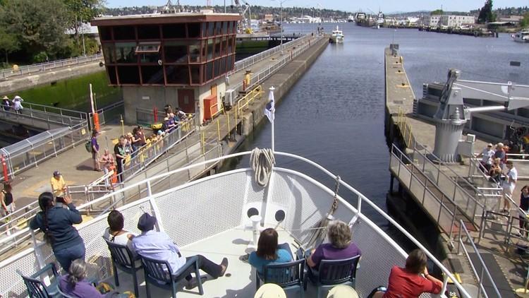 Argosy Cruises Locks