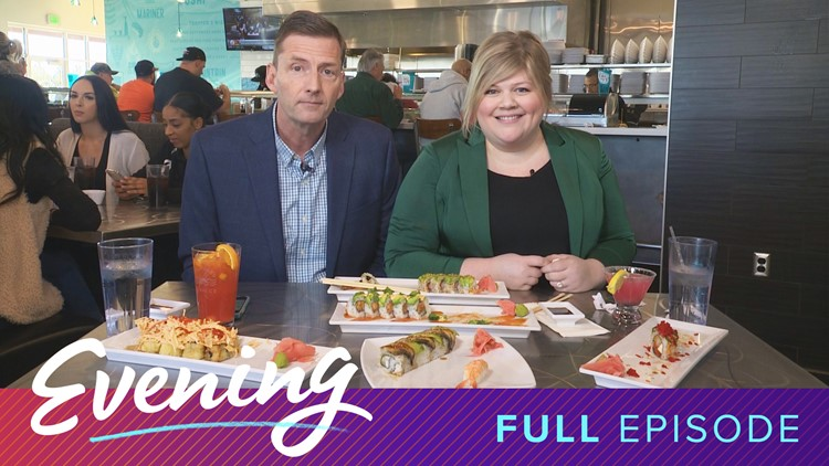 Wed 11/20, Trapper's Sushi in Federal Way, Full Episode, KING 5 Evening