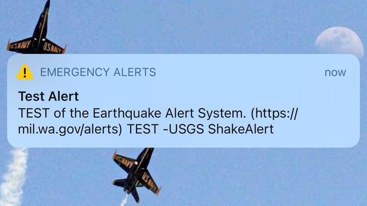 ShakeAlert: Washington tests earthquake early-warning system