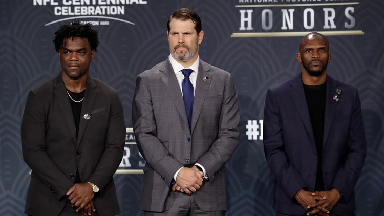 Edgerrin James, Steve Hutchinson, and Isaac Bruce announced going into Hall of Fame