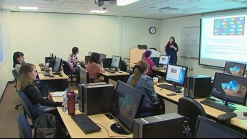 Bellevue College sees uptick in adult student enrollment