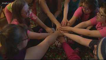 10 girls with Down syndrome form Washington Girl Scout troop