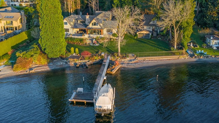 Waterfront luxury and a century-old forest are for sale on Mercer Island - Unreal Estate