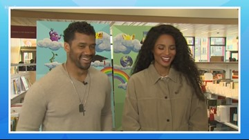 Russell Wilson & Ciara hope to help teens 'succeed' with new King County library campaign