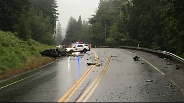 Fatal crash blocks Redmond-Fall City Road for hours