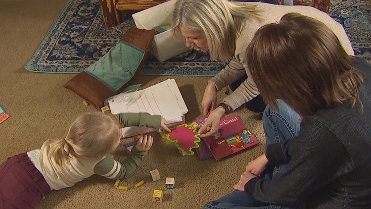 Inslee budget proposal would increase in-home visits for new moms
