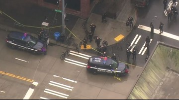 Officer-involved shooting in Belltown appears unrelated to deadly downtown Seattle shooting