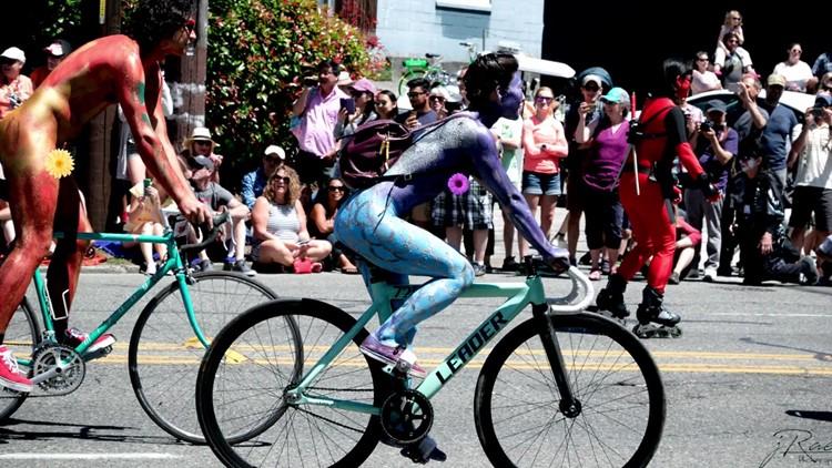 Seattle wa naked bike ride
