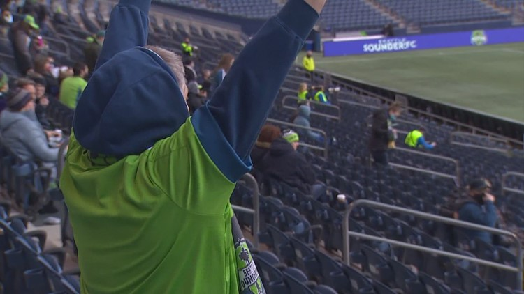 Fans attend Seattle Sounders' preseason game marking first live audience in 13 months