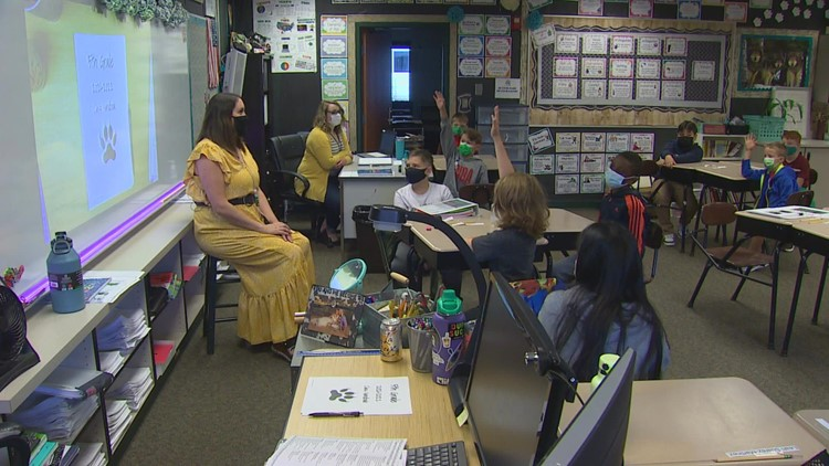 Tumwater teacher says in-person classes are 'best way for kids to learn'
