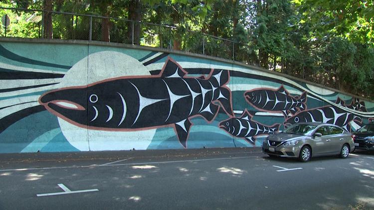 New Bellingham mural illustrates Coast Salish history