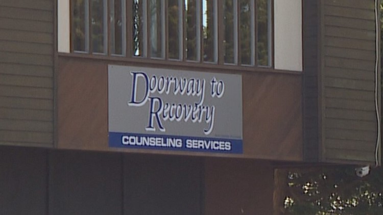 Doorway to Recover drug treatment center in Lakewood, Wash. (Credit: KING)