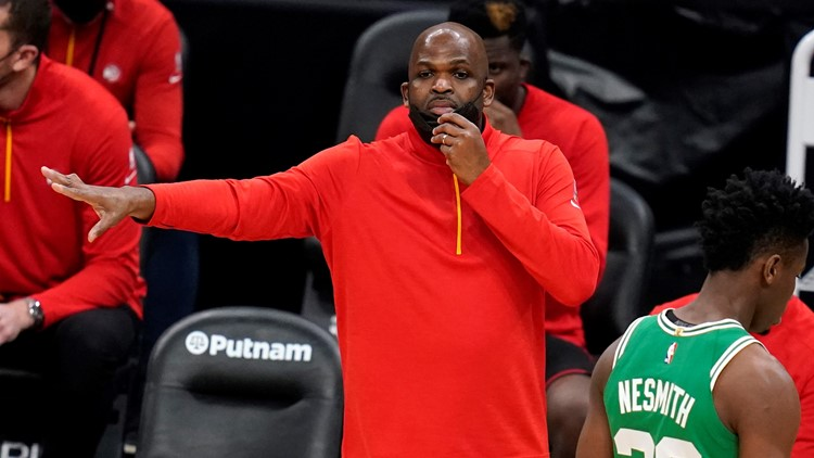 McMillan only reluctantly agreed to be Hawks' interim coach